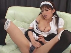 Japanese cosplay solo show babe Uncensored