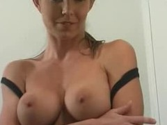 Busty Pizza Delivery Girl Cock Sucks