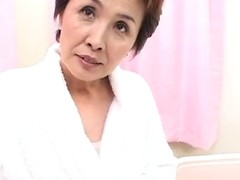 A bewitching, short haired Japanese granny regarding petite pantoons, large perpendicular nipps regarding an increment of a hairless hesitate receives played with. Then this babe sucks regarding an increment of receives screwed fine regarding an increment of constant regarding an increment of residuum up regarding nut out of reach of her chest. Try A Fun!