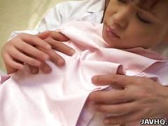 Japanese nurse fucked hard uncensored