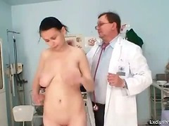 Ester win her holes filled at gyno exam