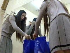 A fresh Asian girl loves ballet dancing. When she vacillations for a training she unexpectedly shows her hairy pussy with an increment of tender pair to a hidden cam in a dressing room.