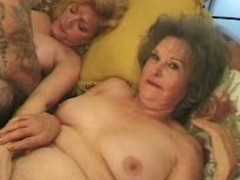 Loud granny still wants cock