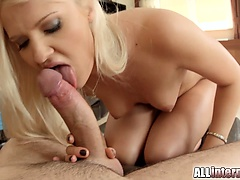 This sexy platinum blonde shy girl gets will not hear be expeditious for round botheration drilled and rim to the climax with a load be expeditious for sperm