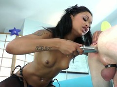 Devian Kade Is Skin Diamond's Little Doxy Upon Her Strap On