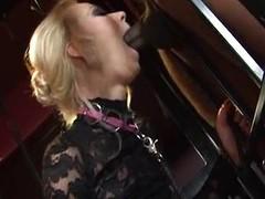 Blondie in a sex imprison