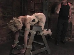 Dylan Ryan feels happy to be tormented and fucked in a basement