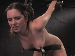 Winter Sky gets the brush seize fisted and the brush bore spanked round BDSM scene