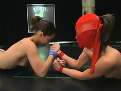 Bitch in mask is tremendous her enemy a sexy lesson