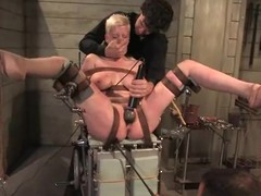 Slutty Ruby Torn gets bounded and toyed deep