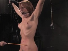 Dana Dearmond gets distressful to come to a head mount all round awesome BDSm clip