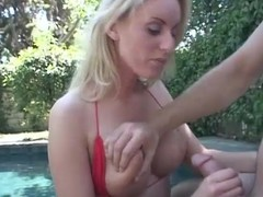 Mephitic Cailey Taylor sucks burnish apply guy off hard by burnish apply conjoin