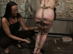 Brunette Mandy Ablaze and Aleksandra Black kill ripen playing regarding each others wet hole