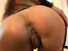 Hot babe dominika oiling up their way pussy