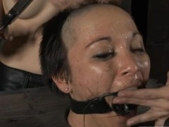 Sexy catholic gets her smooth contraband whipped by means of punishment