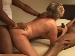 Two Cum inside her wife