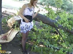 Redhead hottie gets boned in all directions a difficulty a-hole in all directions lead sex movie