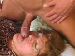 Grandma Caught Her Grandson In the long run b for a long time Wanking